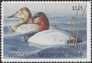 WI9 Mint,OG,NH... State Duck Stamp.. SCV $15.00