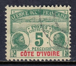 Ivory Coast - Scott #J1 - Used - SCV $4.00