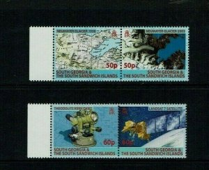 South Georgia, 2007, Mapping  MNH set.