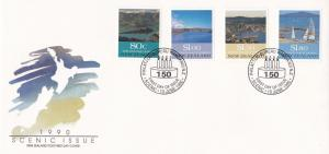 New Zealand 1990 Scenic Issue FDC Unadressed VGC
