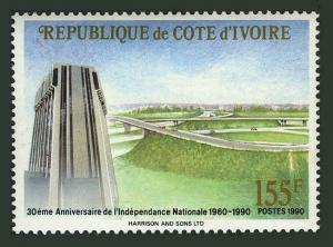 Ivory Coast 895,MNH.Michel 1024. Independence,30th Ann.1990.