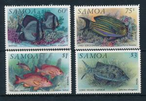 [23354] Samoa 1993 Marine Life Fish MNH