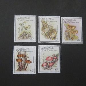 Christmas Island 1984 Sc 152-156 set MNH