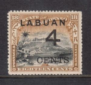 Labuan #91 VF Mint