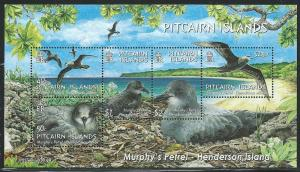 Pitcairn Islands #608a Petrel-Souvenir Sheet  (MNH) CV$16.00