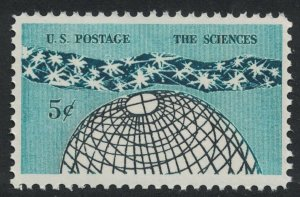 Scott 1237- The Universe- The Sciences - MNH 5c 1963- unused mint stamp