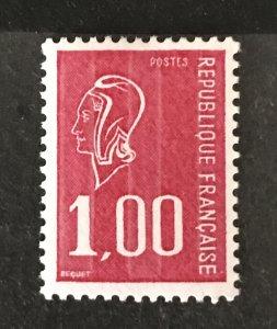 France 1976 #1496, Unused/MH, CV $.50