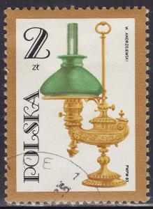 Poland 2509 USED 1982 Early Oil Lamps 2.00zł