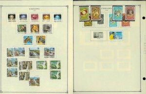 Zimbabwe 1980-2016 Postally Used (mostly) Hinged on 39 Scott Int. Pages.