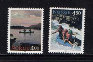 Norway Sc 1036-7 1993 Norden stamp set mint NH