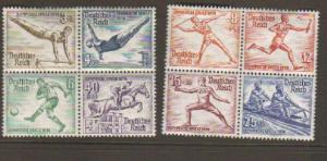 Germany #B82-9 MNH/Mint (B83 & B86 are mint)