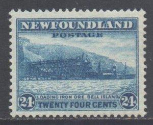 Canada Newfoundland Scott 210 - SG228, 1932 George V 24c MH*