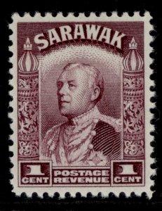 SARAWAK GV SG106, 1c purple, M MINT.