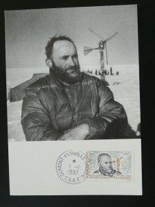 polar explorer Rene Garcia maximum card TAAF FSAT 94369