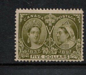 Canada #65 Mint Fine Full Original Gum Lightly Hinged