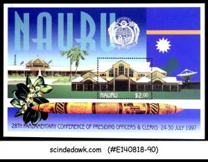 NAURU 1997 28th PARLIAMENTARY CONFERENCE OF PRESIDING OFFICERS & CLECKS M/S MNH
