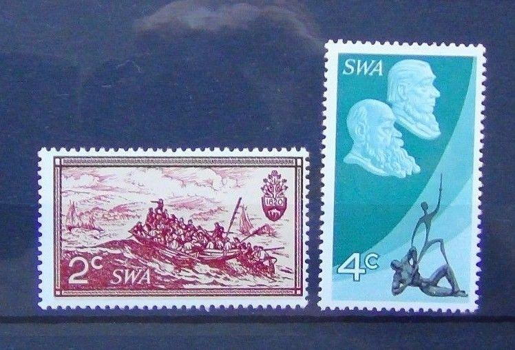 South West Africa 1971 10th Anniversary of South African Republic set MNH
