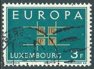 Luxembourg, Sc #403, 3fr Used