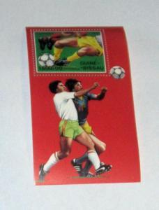 Guinea Bissau - 856, MNH S/S. Soccer. SCV - $4.50