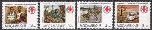 MOZAMBIQUE SCOTT 892-895