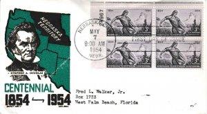 United States Scott 1060 Typewritten Address.