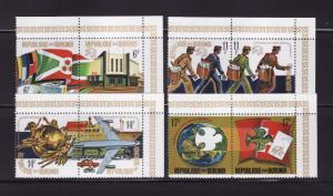 Burundi #460-463 Set MH UPU (A)