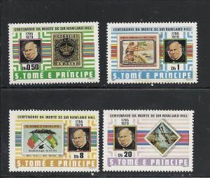 St Thomas & Prince #573-6 comp mnh cv $8.80 Stamp on Stampss
