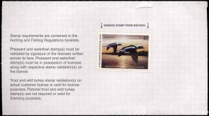 MINNESOTA #27 2003  STATE DUCK STAMP LONG TAILED DUCK Mark Kness