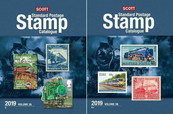 2019 Scott Standard Postage Stamp Catalogue, Volume 3 (Countries G-I)