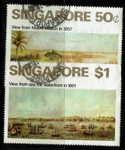 Singapore SC# 148 and 149, Used - S966