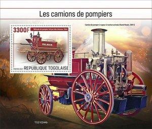 2021/06- TOGO -  FIRE ENGINES           1V    MNH **