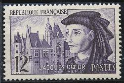France 772 MNH (1955)