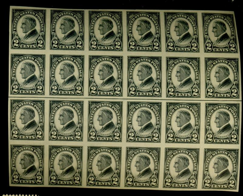 611 MINT Block of 24 VF OG NH Cat$252+
