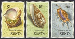 HALF-CAT BRITISH SALE: KENYA #36-50 Mint NH