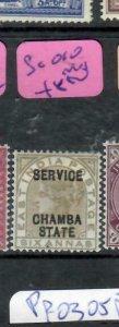 INDIA CHAMBA (PP0305B)  QV SERVICE  6A  SG O10  MOG