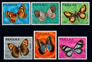 [71182] Panama 1968 Insects Butterflies  MNH