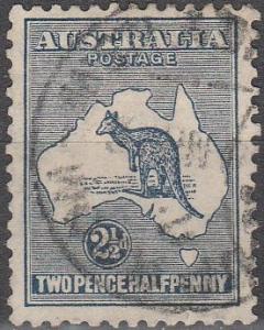 Australia #46 F-VF Used  CV $17.50 (C6182)