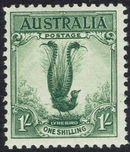 AUSTRALIA 1932 LYREBIRD 1/-