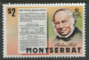 Montserrat - Scott 409 - Centenary of UPU -1979 - MNH -Single $2.00 Stamp