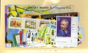 Jersey Scott 1297-1349, 1317a, 1349a, 1347a Mint NH (2008 Year Set)
