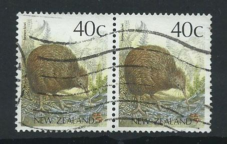 New Zealand SG 1463  pair fine used