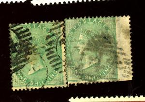 Great Britain #28 (3) Used Ave-Fine  Cat $825