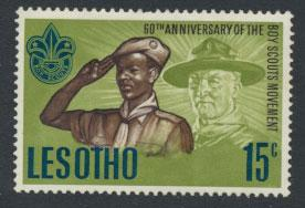 Lesotho  SG 144    Mint Hinged  Scouts