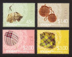 Tokelau Sc# 423-6 MNH Weaving