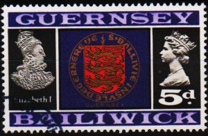 Guernsey. 1969 5d S.G.19 Fine Used