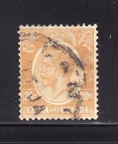Kenya, Uganda, Tanzania 25 U King George V (D)
