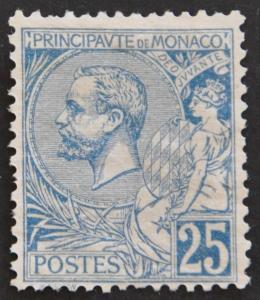 DYNAMITE Stamps: Monaco Scott #21 – UNUSED