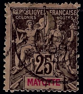 Mayotte Sc #10 Used Fine hr...Colonies are in demand!