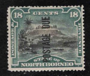 North Borneo Scott J7 MH* postage due ,CV $70