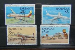Barbados 1989 50th Anniversary of Commercial Aviation in Barbados set Used